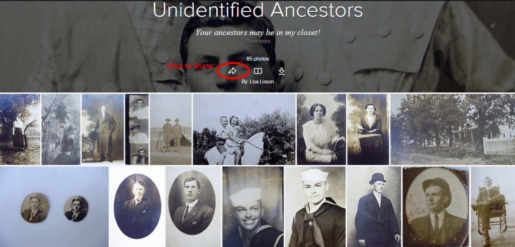 Identify Your Ancestors Using Flickr