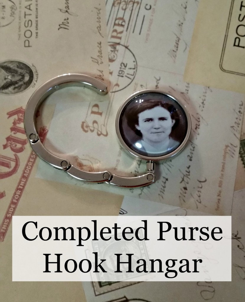 Completed Purse Hook Hangar