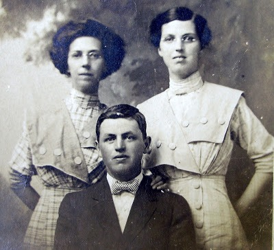 Have you thoughts about your female ancestors' hairstyles? Have you considered how your female ancestor's hairstyle could date her photograph?  It is no different from how we look back at our own photographs and know when it was taken by how we wore our hair.