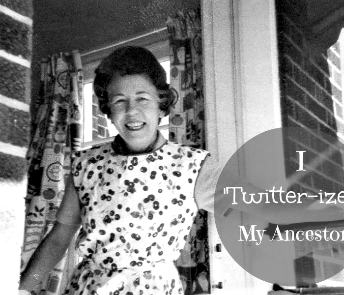 I Twitter-ized My Ancestor!