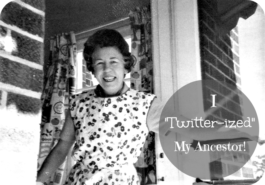 """Desperate to engage young adults in their family history? Challenge them to """"twitter-ize"""" an ancestor!"""