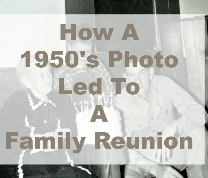How a 1950's Photograph Led to a Family Reunion