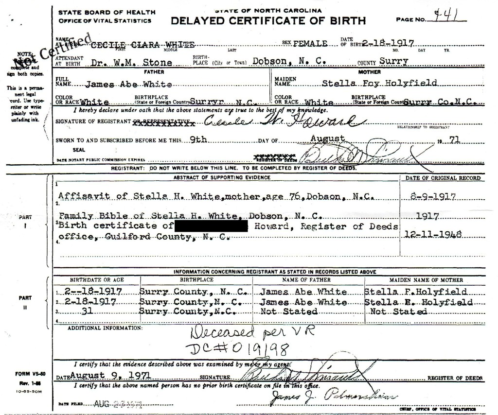 5 things to be learned from a delayed birth certificate are you what are delayed birth certificate and how can they advance your genealogy research learn 5 aiddatafo Choice Image