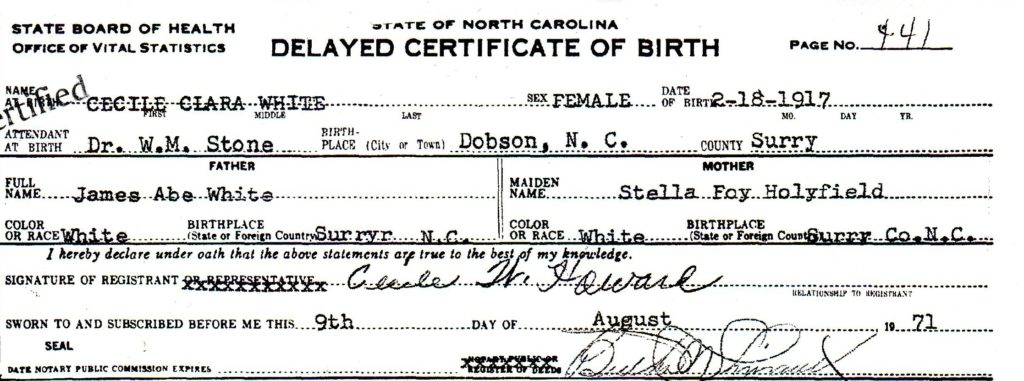 """Did your ancestor have a delayed birth certificate? That's a good thing! Find out the """"extra"""" genealogy clues that are not found in traditional birth or vital records."""