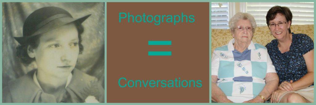 Photographs Equal Conversations ~LisaLisson.com