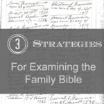 3 Strategies For Examining the Family Bible