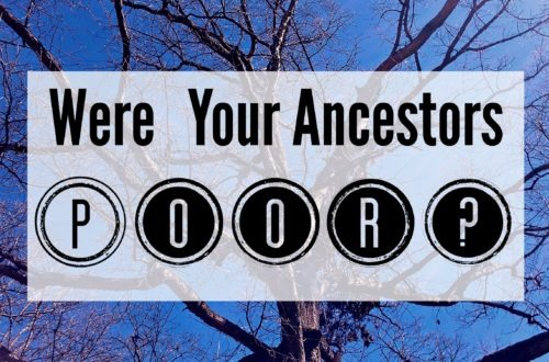 Were Your Ancestors Poor?