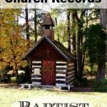 Finding NC Baptist Church Records