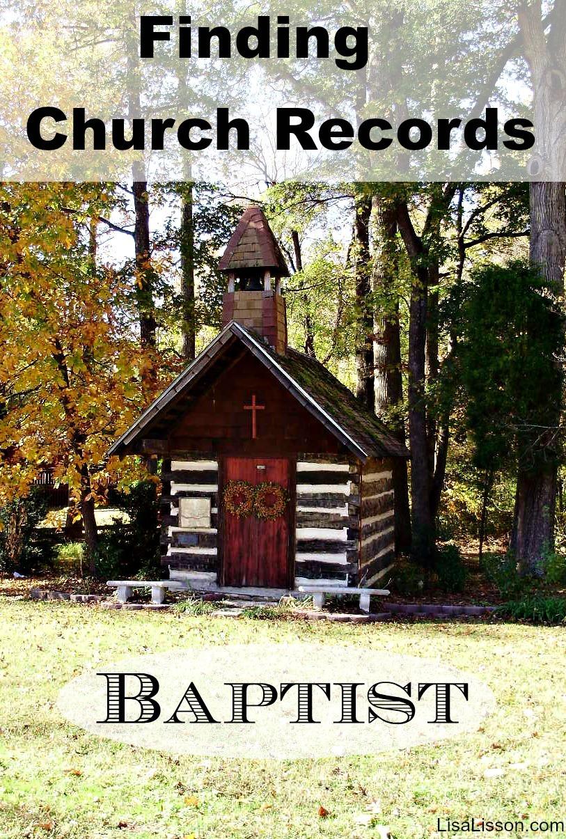 Finding NC Baptist Church Records