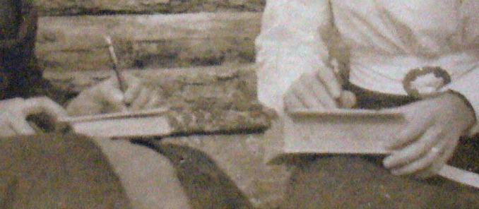 Details of women's hands