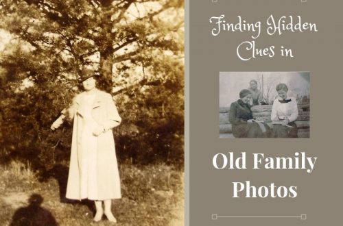 Are family history clues hidden in your old family photos? Learn how to examine those photos for interesting details about your ancestors.