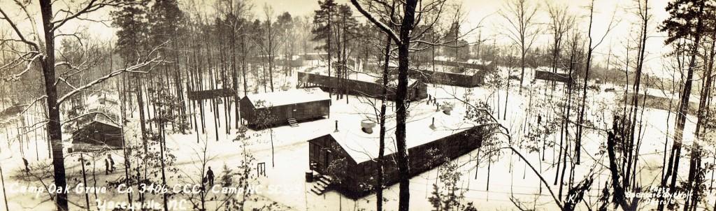 CCC Camp Oak Hill, Yanceyville, NC