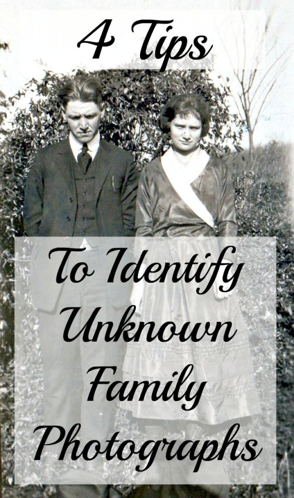 4 Tips to Identify The Unknown In Old Family Photos | Are
