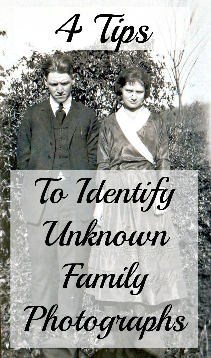 4 Tips to Identify Unknown Family Photographs