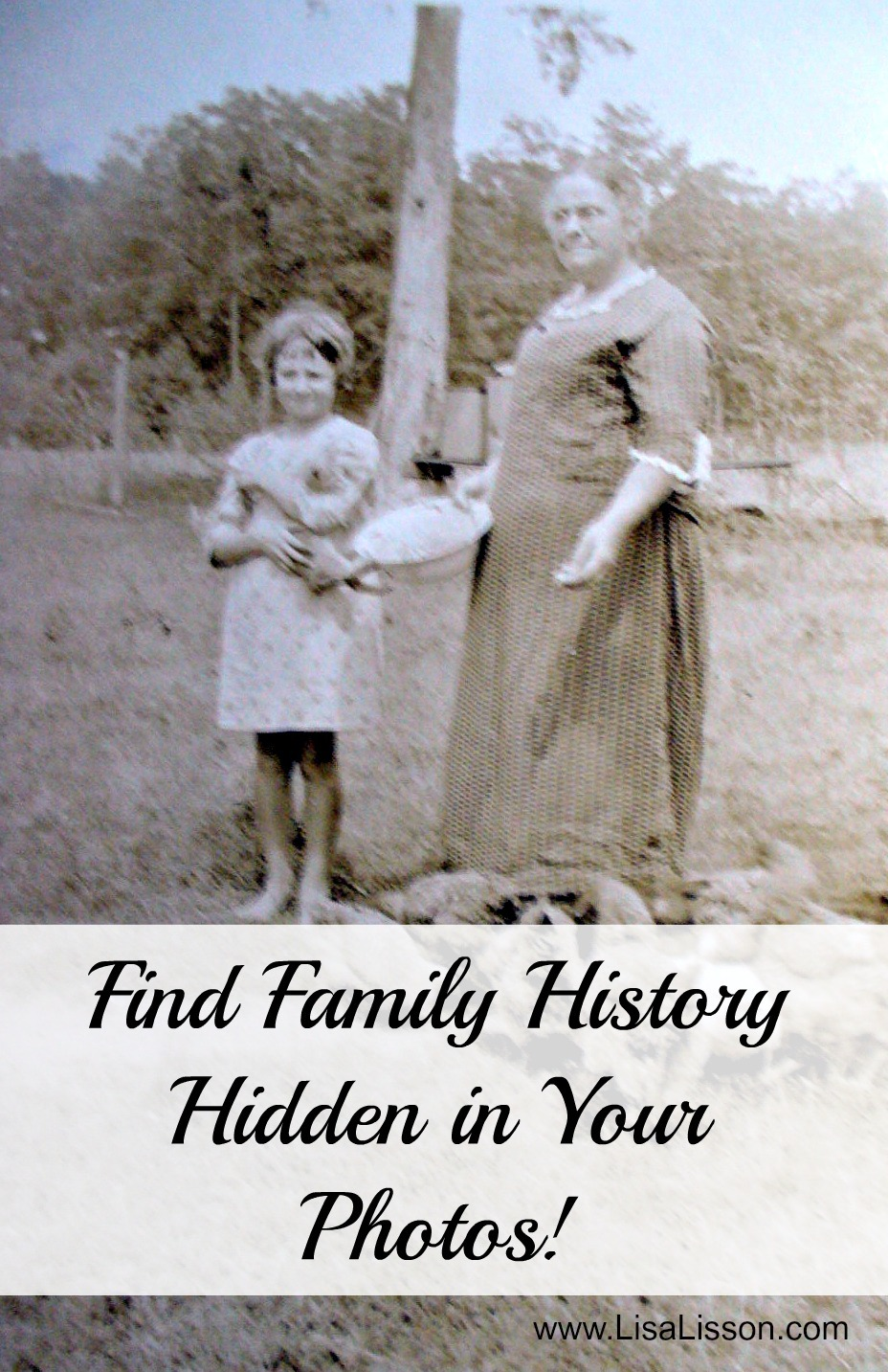 Find Family History Hidden in Your Photos