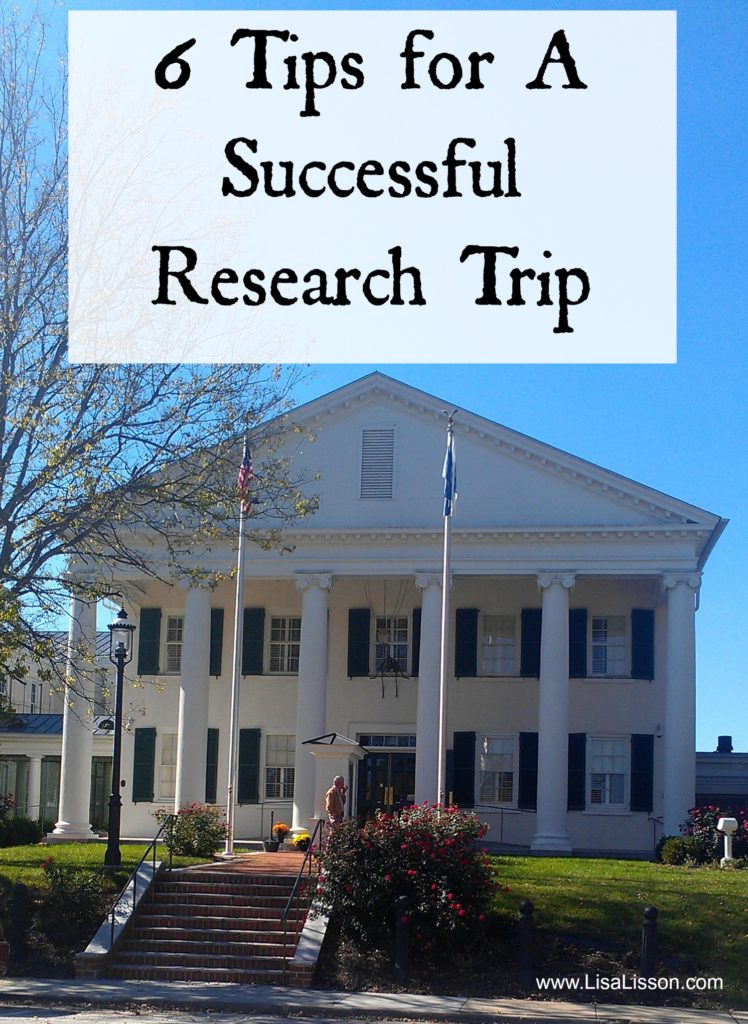 6 Tips for a Successful Genealogy Research Trip
