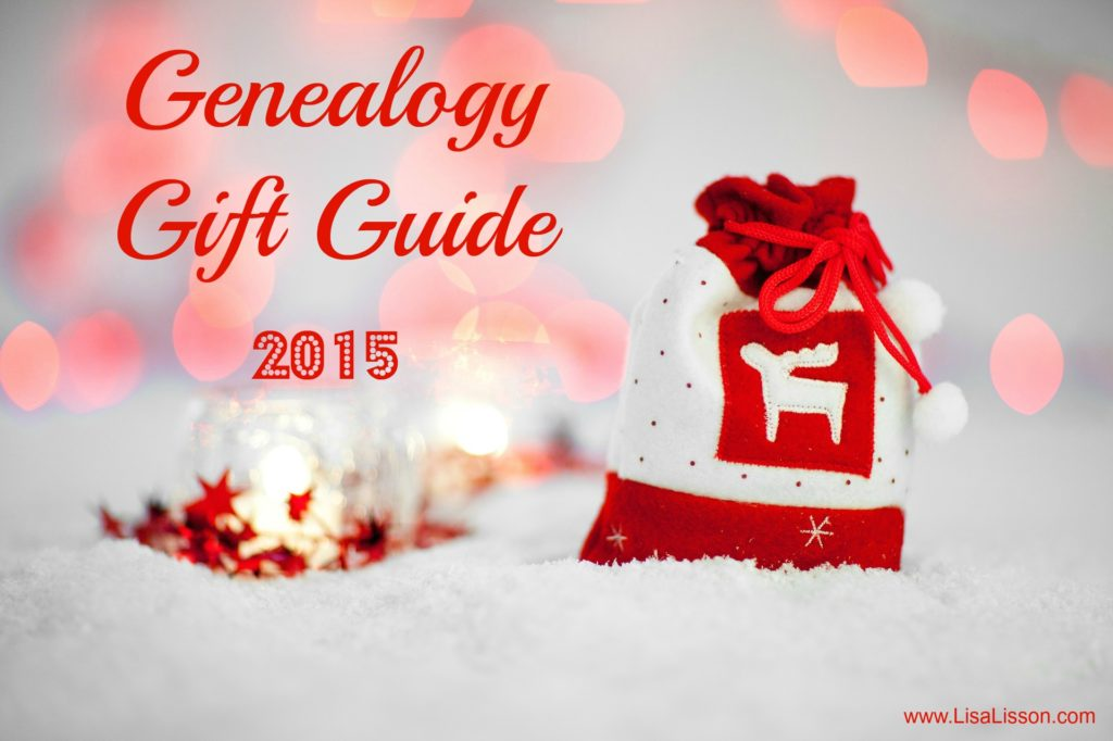Genealogy Gift Guide 2015