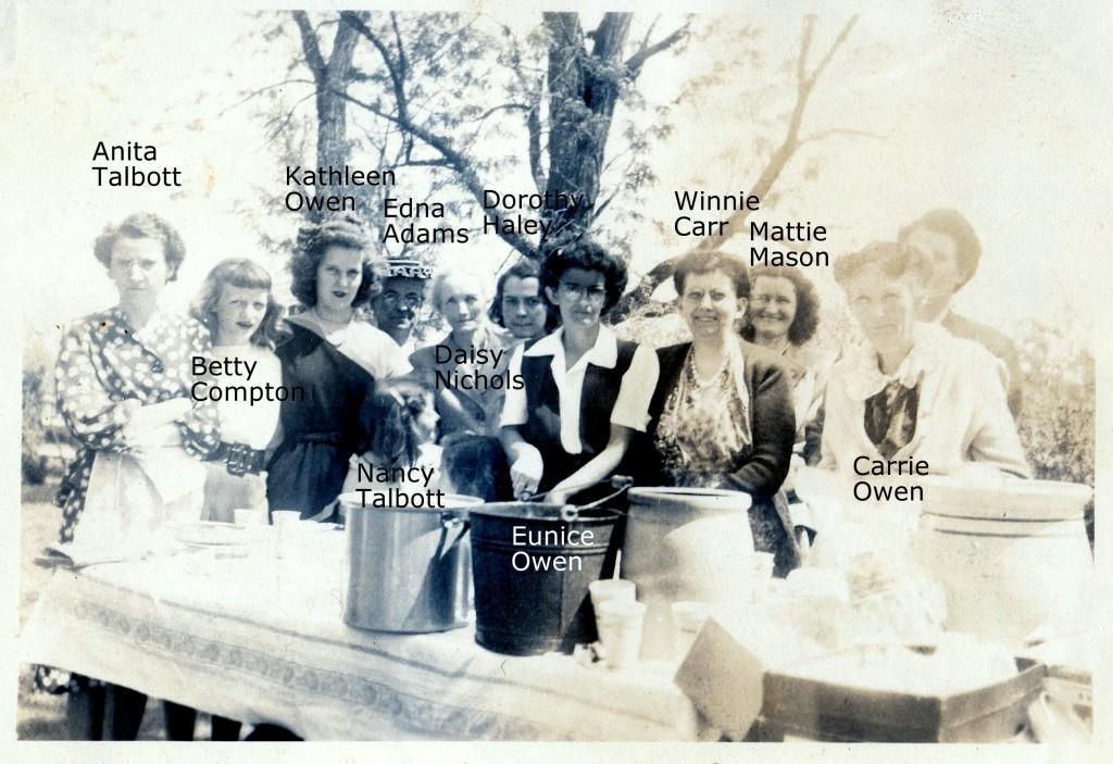 Haley Family Reunion ~1946