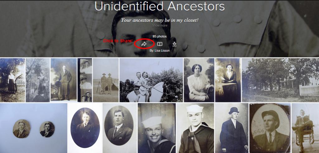 Identify Your Ancestors Using Flickr