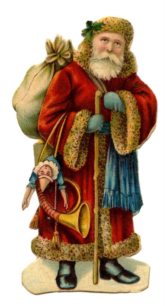 Vintage Santa - Holiday Genealogy Records