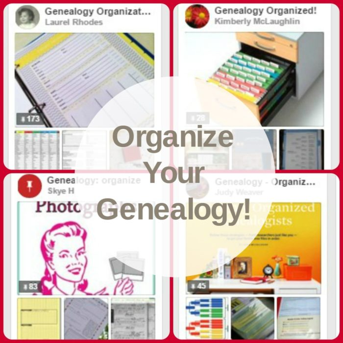 Organize Your Genealogy!