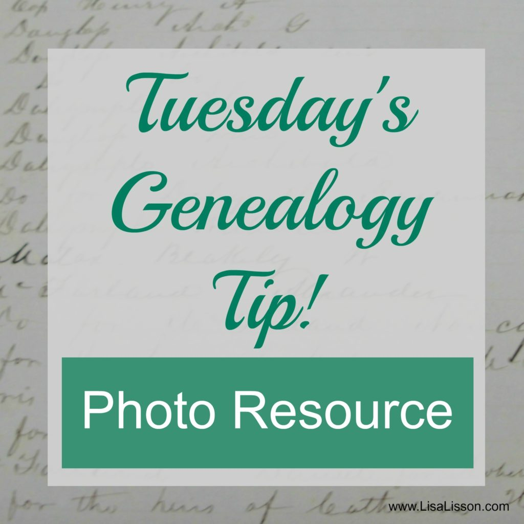 Tuesday's Genealogy Tip - Photo Resource