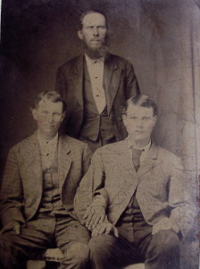 Tintype of Elliott Men - South Central VA