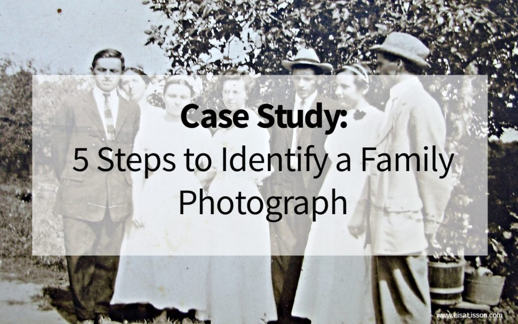 Case Study: 5 Steps to Identify a Family Photogrpaph - Do you have older family photographs in your collection you cannot identify? I am sharing with you steps you can take to begin evaluating and identifying your heirloom photographs.
