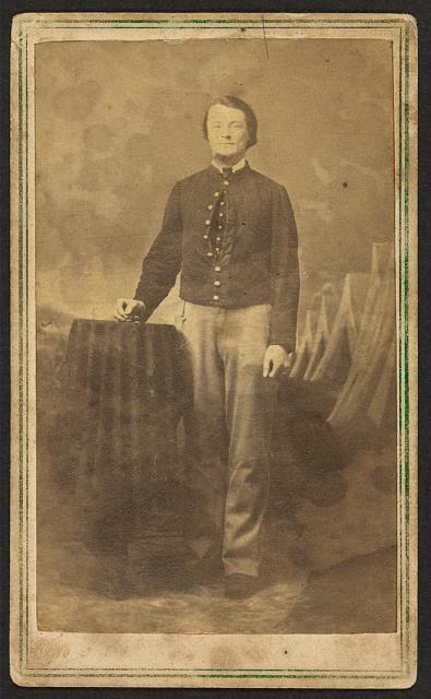 Civil War Soldier - CDV