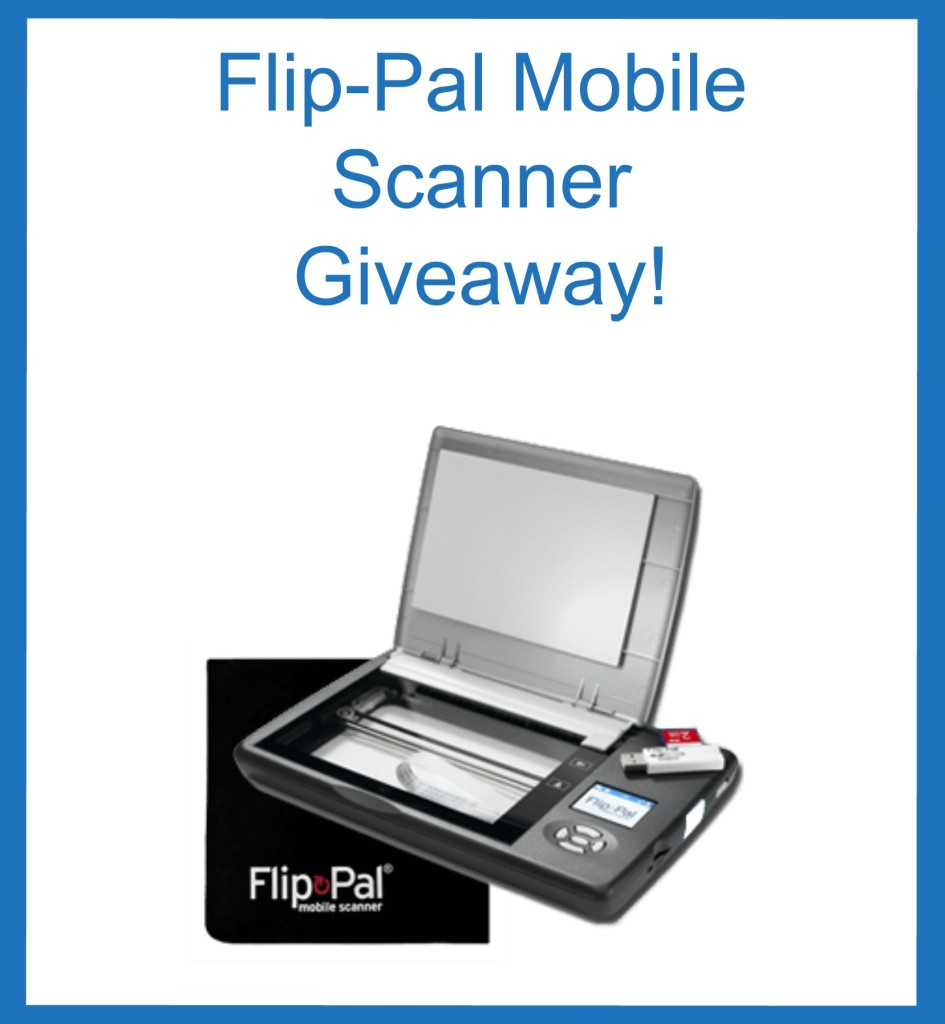 Flip-Pal Giveaway ENDS the end of February 2016. JOIN NOW!.. It's a great tool for genealogy, scrap-booking, organizing and so much more!