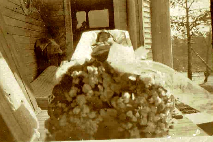 Ruth Talbott - 1924 Funeral Photography