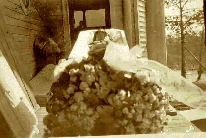 Ruth Talbott - 1924 Funeral Photography