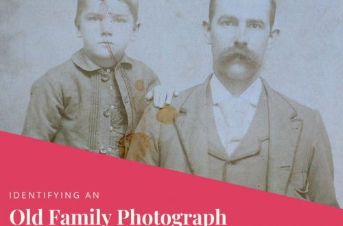 Do you have a box of old family photographs? Wondering who those people are? Learn tips and strategies to identify those old family photographs.
