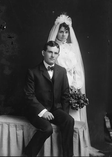 Your ancestor's wedding photo may not be easily recognized. Learn clues to recognize the photos of your ancestor's happy day.