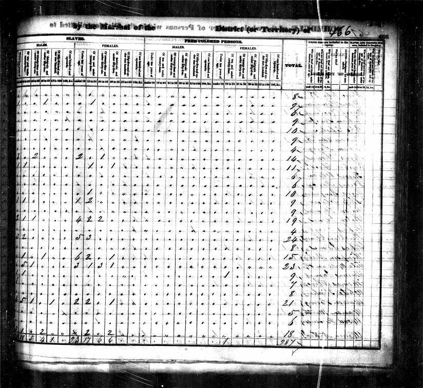 1830 Census George Harwood pg2