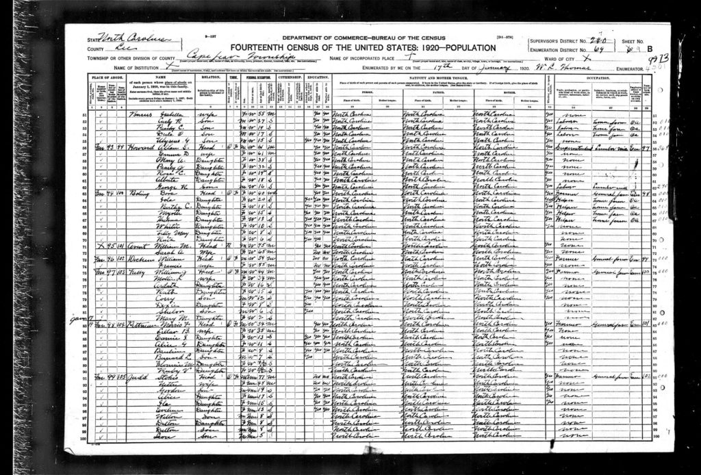 Census records are some of the first records genealogists go to when beginning their research. It is exciting to trace a family back generations by following them backward through the census records. In our excitement of finding our ancestors, though, we can miss important clues that are important to our current research projects, but also future genealogy research projects.