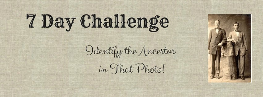 Do you have a shoe box of unidentified ancestors' photographs in your closet? Is your goal to identify all the photographs in your collection? Then you are in the right place! I inherited a box of unidentified photos of ancestors and set about identifying the individuals and re-introducing them to the family. The process has been slow, but the lessons and strategies learned are the ones I share with you in this challenge. Pick one photograph to focus on for 7 days and learn strategies to identify those unknown photographs.