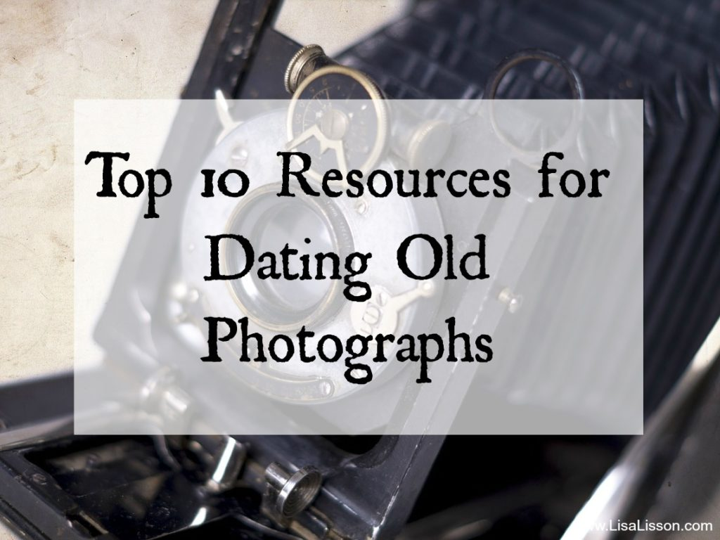 "The most common question I receive regarding old family photographs is how to date them. I've asked this in the past as well. After all, dating a photograph is the first step in being able to identify the individual(s). These are some of my favorite and ""go-to"" resources for dating photographs."
