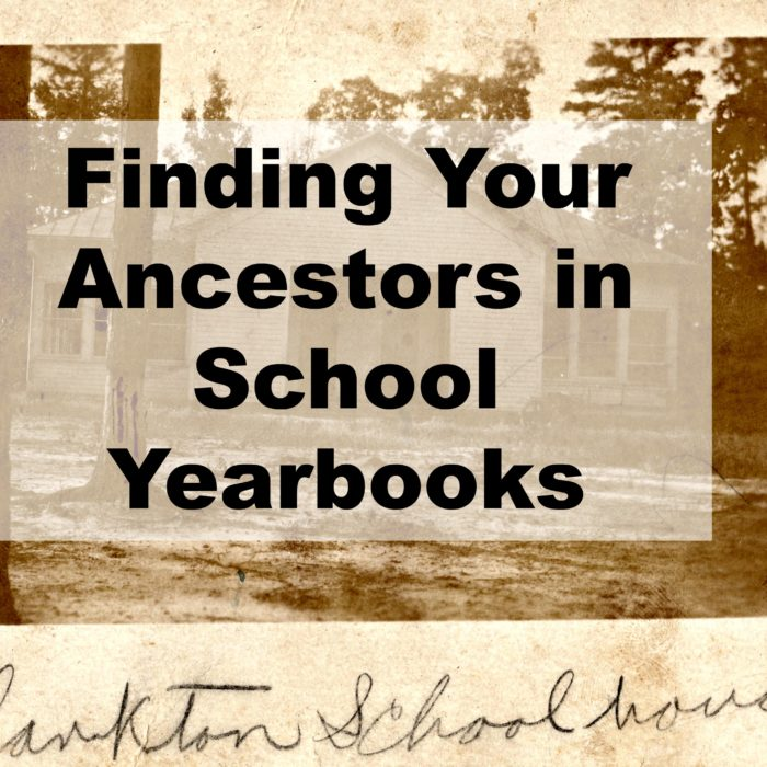 Finding Your Ancestors in School Yearbooks