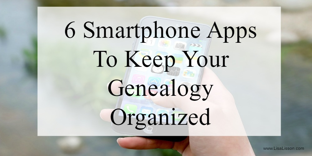 Smartphones did not exist when I started out in genealogy research! I suspect that is true for most of us. Now my smartphone has become the most important organizational tool I use for on site repository and courthouse research . From keeping my research plan, my genealogy records and recording new finds, I can easily record and organize my research quickly.