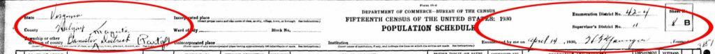 1930 Census SB Carr_picmonkeyed