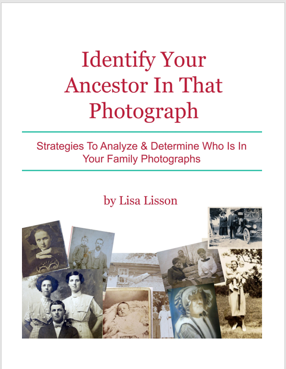 Identifying an old family photograph allows an individual's story to be told and strengthens family ties with current and new generations to come.