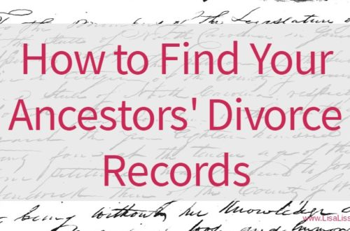 Not all of our ancestors lived happily ever after. Learn where and how to search for your ancestor's divorce records. #genealogy #ancestors #familyhistory