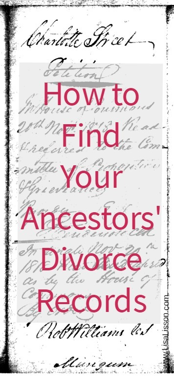 How To Find Your Ancestors Divorce Records  Are You My Cousin