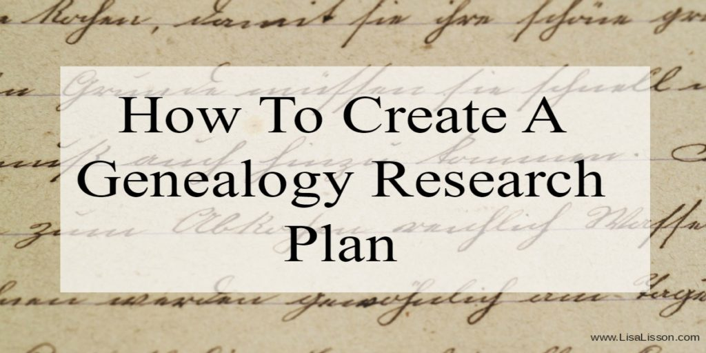Researching without a genealogy research plan is not a good thing. You risk unfocused and incomplete research. You risk not finding your ancestors. Learn to stay off the rabbit trails by creating a genealogy research plan before you began your genealogy research.