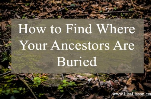 Finding where your ancestors are buried is high on most genealogy researchers' list of things to do. Tips and resources to find start your search!