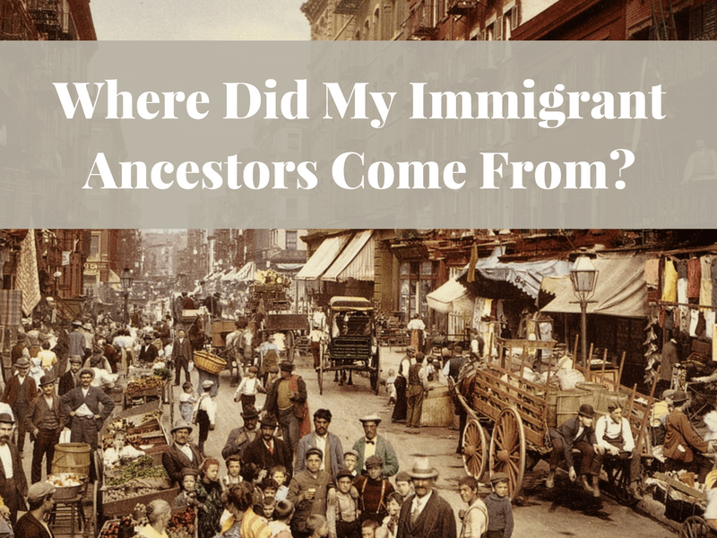 Research into your immigrant ancestors should start in U.S. records. Learn which records are helpful and strategies to use them.