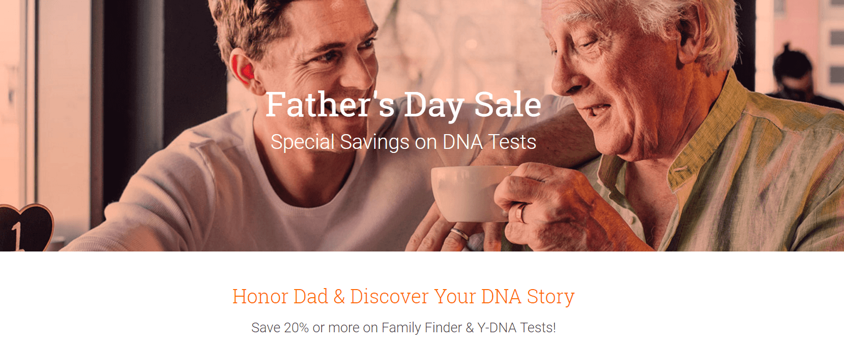FamilyTree DNA Father's Day Sale