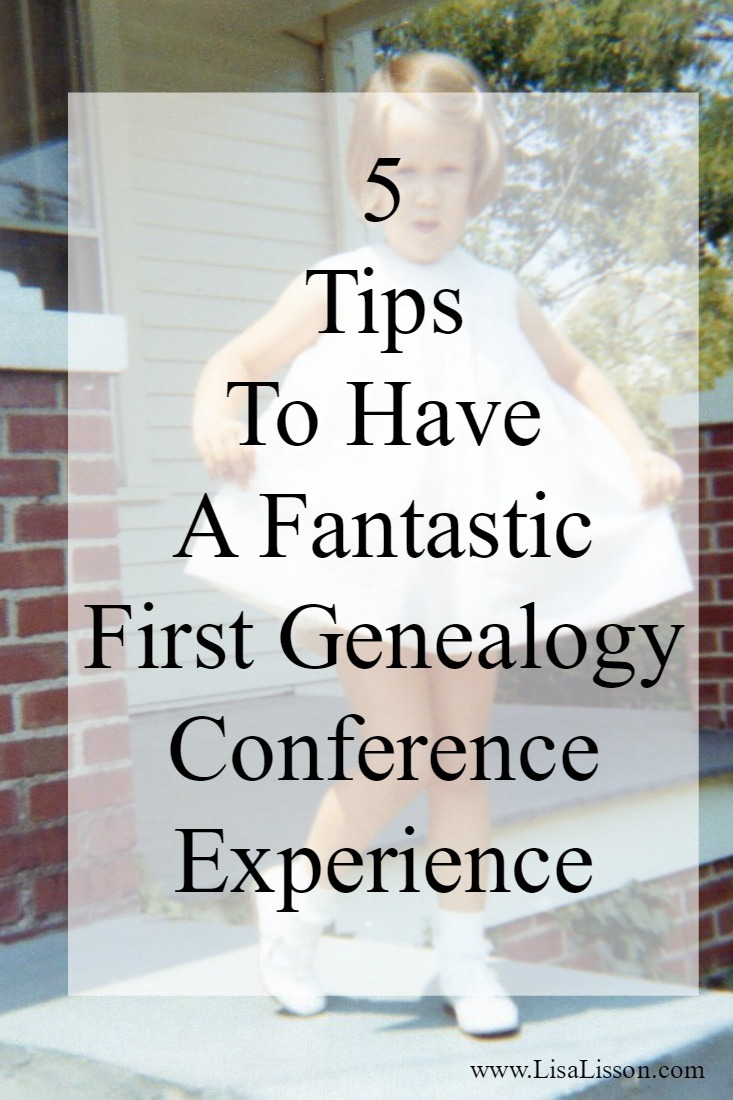 Have you ever attended an NGS Family History conference? Just imagine....4 days of nothing but learning about genealogy. Talking about your ancestors. Meeting like minded genealogists. You might even meet a cousin or two. Use these tips for having a fantastic genealogy conference experience!