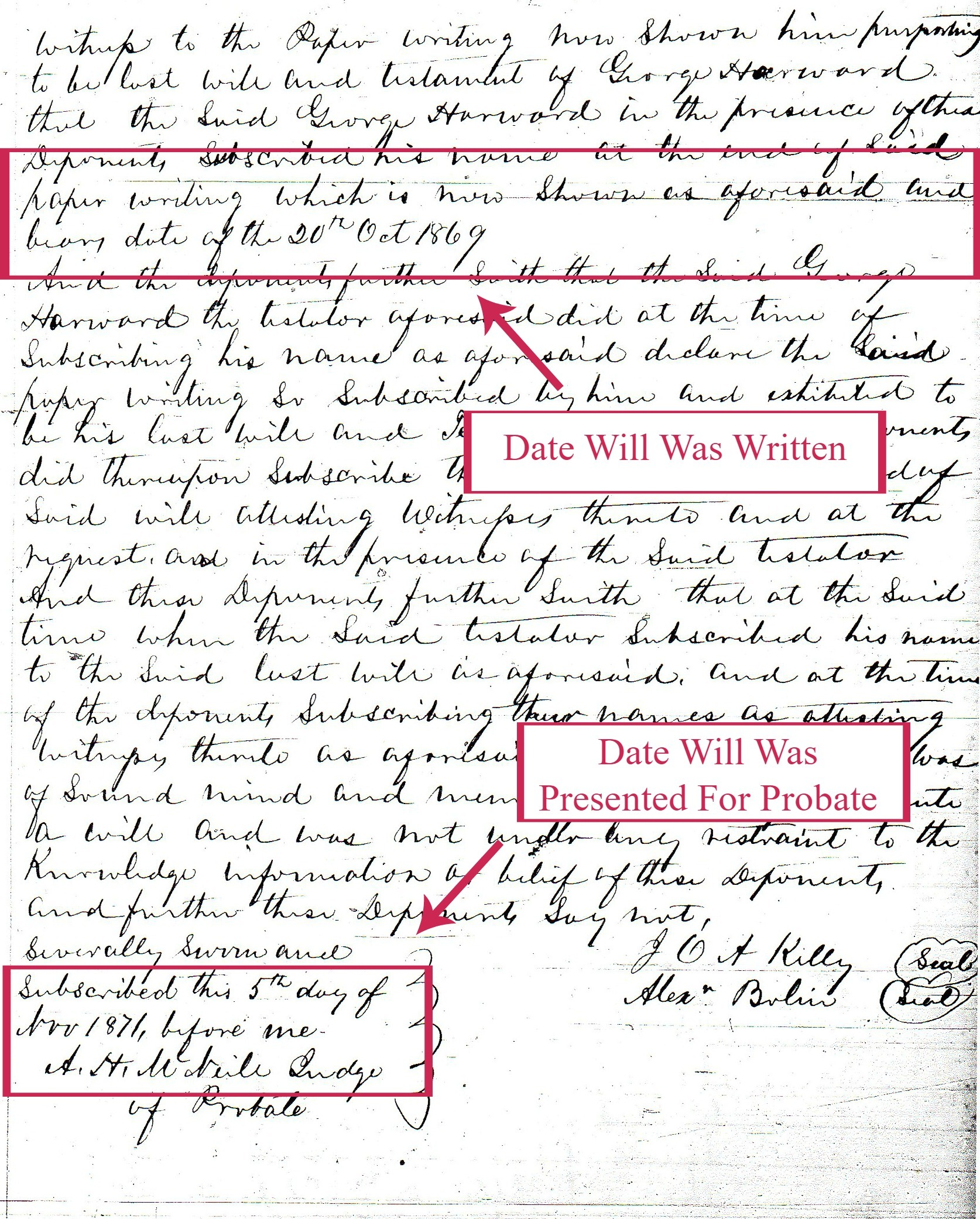 """How do I find my ancestor's death date?"" is one of the most common questions I hear. And, why not? Death Certificates are a fairly modern occurrence, but most of our ancestors did not live in a time period when death certificates were generated. Fortunately, as researchers we can determine an ancestor's date of death using other resources."